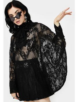 immortal-beauty-lace-tunic by killstar