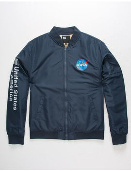 rsq-nasa-navy-mens-bomber-jacket by rsq