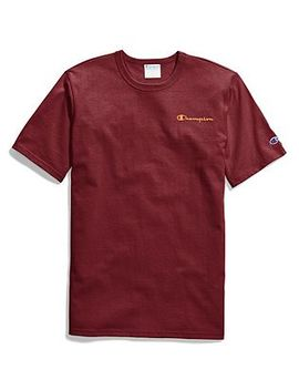 Champion Life® Tee, Embroidered Script Logo by Champion