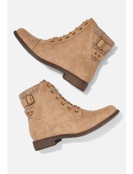 Kordin Lace Up Boot by Justfab