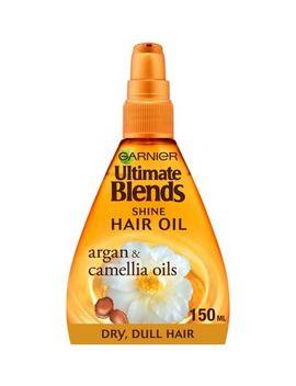 garnier-ultimate-blends-argan-oil-shiny-hair-oil-treatment-150ml by garnier