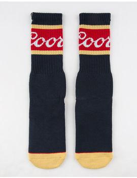 brixton-x-coors-signature-mens-socks by brixton