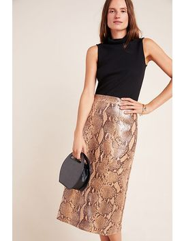 orly-snake-printed-pencil-skirt by current-air