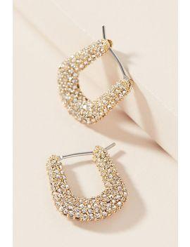 eli-hugger-hoop-earrings by anthropologie
