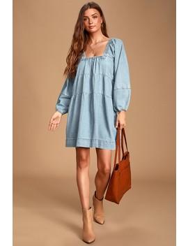 blue-jean-babydoll-light-wash-denim-dress by free-people