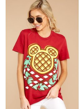 Christmas Waffle Tee by The Lost Bros