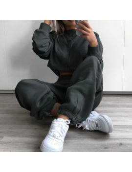 cool-women-high-waist-pants-solid-yellow-loose-joggers-female-trousers-2019-autumn-winter-track-pants-punk-capris-gray-yellow by aliexpresscom