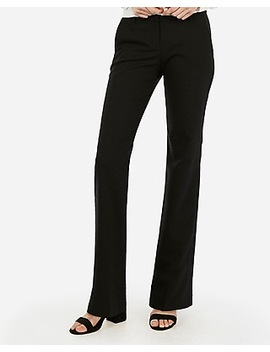 low-rise-notch-flare-editor-pant by express