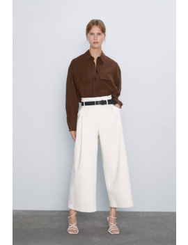 camisa-bolsillos-solapa by zara