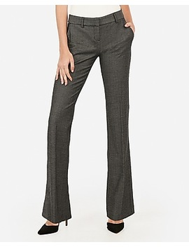 low-rise-straight-flare-textured-columnist-pant by express