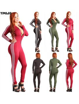 women-hot-2019-jumpsuits-playsuits-bodysuits-romper-women-hot-style-casual-striped-skinny-sexy-jumpsuit-long-sleeve-club-zipper by aliexpresscom