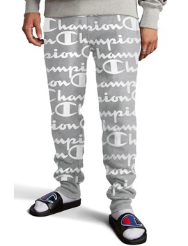 life®-reverse-weave-script-fleece-jogger-pants by champion