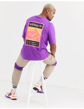 adidas-originals-adiplore-t-shirt-with-back-print-in-purple by adidas-originals