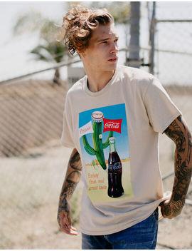 neon-riot-coke-cactus-mens-tee by neon-riot