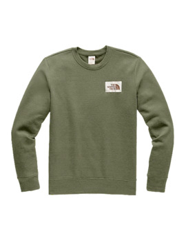 The North Face Men's Heritage Crew Sweatshirt   Burnt Olive by Sport Chek