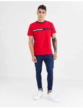 tommy-hilfiger-tino-t-shirt-in-red by tommy-hilfiger