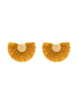 wool-fan-earrings by katerina-makriyianni