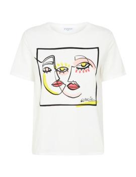 face-print-t-shirt by claudie-pierlot