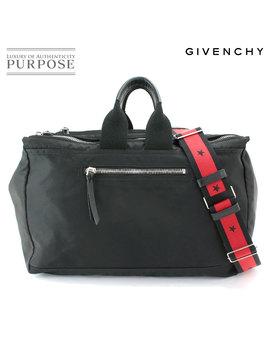 ジバンシィ-givenchy-3way-boston-shoulder-bag-backpack-nylon-leather-black by rakuten-global-market