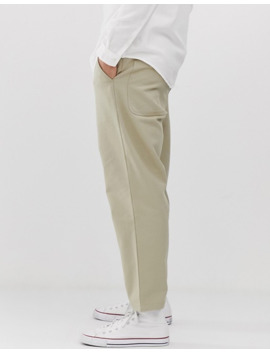 farah-hawtin-hopsack-cropped-pants-in-sand by farah