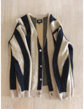 mohair-cardigan by stussy  ×