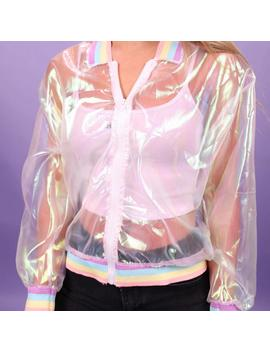 """Iridescent"" Windbreaker by Aesthentials"