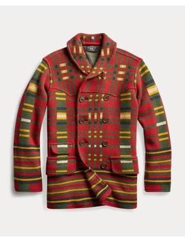 Wool Blend Sweater Jacket by Ralph Lauren