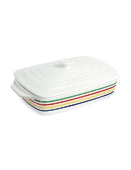 hbc-x-le-creuset-multi-stripe-casserole-dish by hbc-stripes