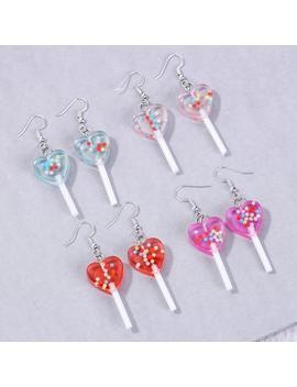 """""""love-lollipop""""-earrings by aesthentials"""