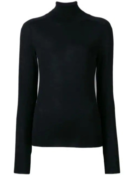 roll-neck-fitted-sweater by victoria-beckham