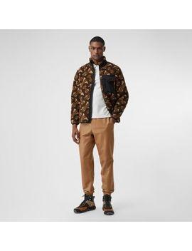monogram-fleece-jacquard-jacket by burberry