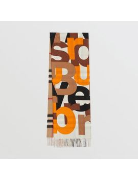 block-print-check-cashmere-scarf by burberry