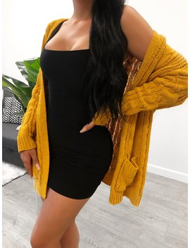 Lepa Cardigan (Mustard) by Laura's Boutique