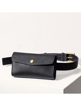 aritzia-leather-belt-bag by aritzia