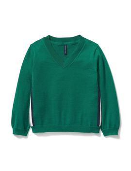 Side Stripe Pullover by Janie And Jack