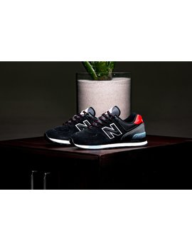 New Balance Ml574 Jho   Black / Blue / Red by Politics