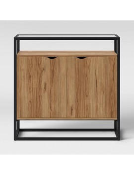 ada-mixed-material-2-door-cabinet-with-glass---project-62 by shop-collections