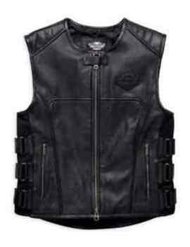 harley-davidson-mens-swat-ii-leather-vest-(98101-16vm) by harley-davidson