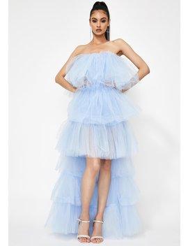certainly-privileged-tulle-maxi-dress by kiki-riki
