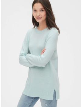 Crewneck Tunic Sweater by Gap