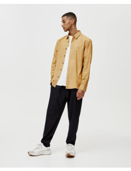basic-cotton-shirt by pull-&-bear