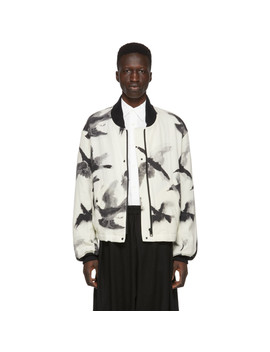 off-white-crow-print-bomber-jacket by sasquatchfabrix