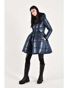 new-beautiful-peplum-winter-jacket-_navy---hodded-warm-jacket-handmade-bu-aakasha-a20210 by etsy