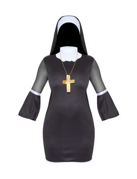black-naughty-nun-costume- by prettylittlething
