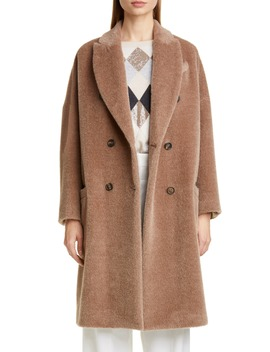 double-breasted-alpaca-blend-coat by brunello-cucinelli