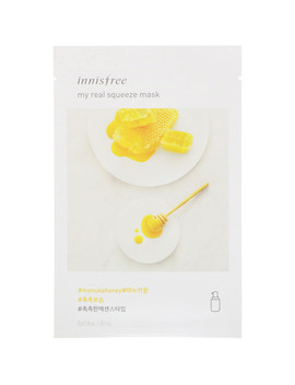 innisfree,-my-real-squeeze-mask,-manuka-honey,-1-sheet,-067-fl-oz-(20-ml) by innisfree
