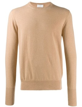 crew-neck-cashmere-sweater by ballantyne