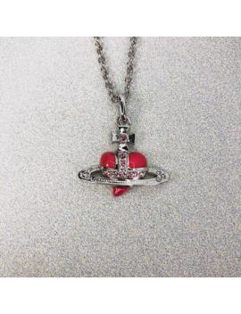 vivienne-westwood-pink-heart-orb-necklace by vivienne-westwood  ×