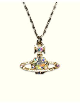 iridescent-saturn-star-necklace by vivienne-westwood  ×