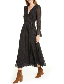 daphne-floral-long-sleeve-wrap-midi-dress by polo-ralph-lauren